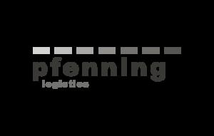 Logo pfenning logistics