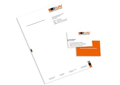 bAV Innovationspartner Corporate Design