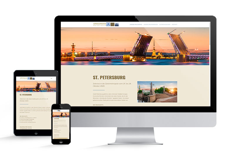 grossmann-reiseideen.de Website