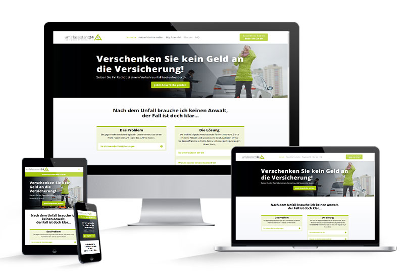 unfallassistent24.de website